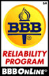 BBBOnLine Reliability Seal